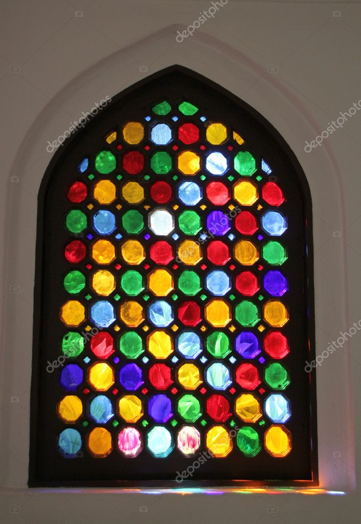 Stained window — Stock Photo #9823341