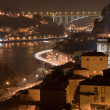 Oporto by night — Stock Photo