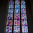 Stained glass window — Foto Stock #9875931
