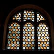 Stained glass window, — Stock Photo