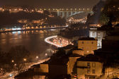Oporto by night — Foto Stock