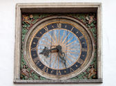 Clock in Tallin — Foto Stock