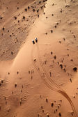 Rum vista no deserto de wadi — Foto Stock