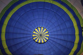 Inside view of a balloon — Stock Photo