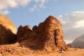 Wadi Rum desert — Stock Photo