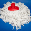 Royalty-Free Stock Photo: A white mop