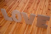 Любовный знак — Стоковое фото