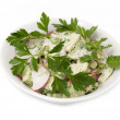 Salad with parsley leaves — Stock Photo