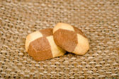 Two cookies — Stock Photo