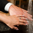 Hands of married — Foto Stock #10416634