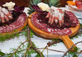 Cured meats — Stockfoto