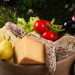 Stock Photo: Gastronomic products
