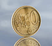 Euro crises — Stock Photo