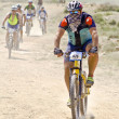 """Extreme-Bardenas"" bike ride through the nature reserve of ""Bard — Stock Photo #9761150"