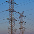 Stock Photo: Electrical towers