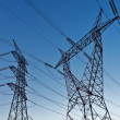 Electrical towers — Stock Photo #9777956