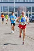 Marathon, mit ventilatoren — Stockfoto
