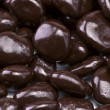 Stock Photo: Chocolate covered raisins