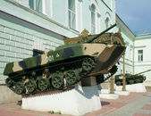 BMD near the Museum of airborne troops history — Stock Photo