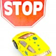 Road sign - stop — Stock Photo #9952554