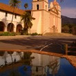 Santa barbara mission, Santa Barbara, Ca, USA — Stock Photo