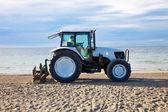 Beach clean — Stock Photo