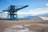 Machines pour le stockage du sel — Photo