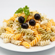Plate of macaroni - Stock Photo