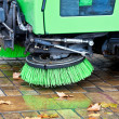 Machine to sweep — Stock Photo