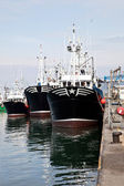 Fishing boats — Stock Photo