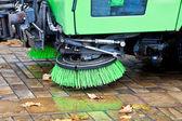 Machine to sweep — Stock Photo