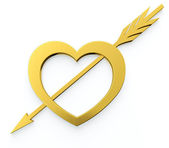 Heart with arrow — Stockfoto