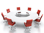 Conference table. — Stock Photo