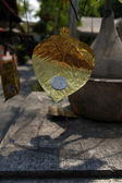Gold leaf — Stock Photo