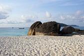 沿海峭壁和海滩 — 图库照片
