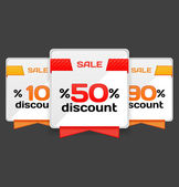 Sale or discount tag — Stock Vector