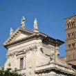 Basilicof SantFrancescRomanin Rome — Stock Photo #10073679