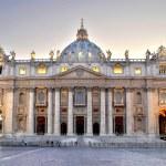 The Papal Basilica of Saint Peter — Stock Photo