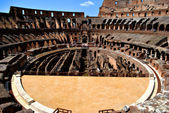 Roman Coliseum sand — Stock Photo