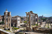 Roman Forum in a sunny day — Stock Photo