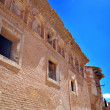 Stock Photo: Old Belchite main street