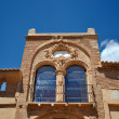 Stock Photo: Arco de la Villa in Belchite