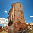 Destroyed building in Belchite — Stock Photo