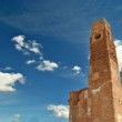 The clock tower in Belchite — Stock Photo #10291061