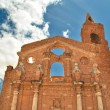 Abandoned church in Belchite — Stock Photo