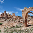 Belchite village devastated by war — Stock Photo