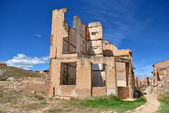 Bombed house in Belchite — Stock Photo