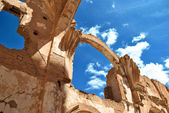Church os St. Martin of Tours in Belchite — Stock Photo