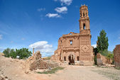San Agustin Church in Belchite — Stock Photo