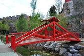 Zen typical bridge — Stock Photo